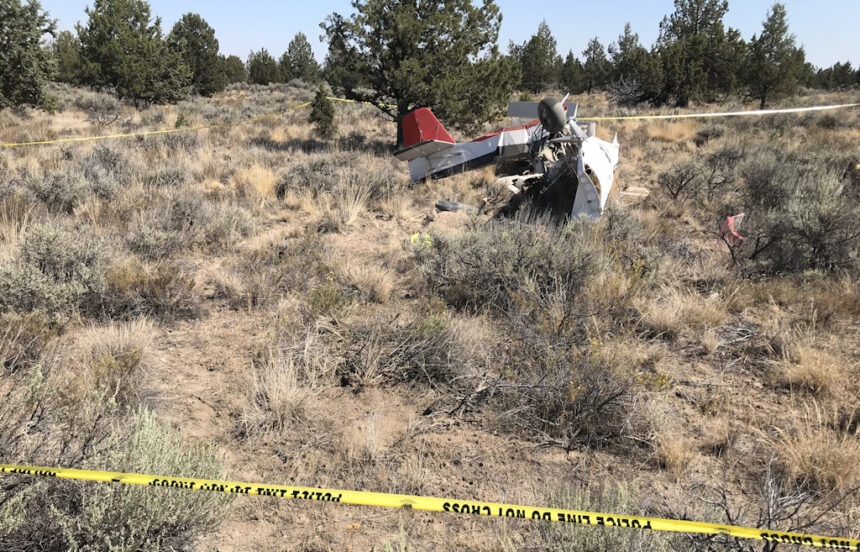 Fatal plane crash Prineville Airport PPD 829