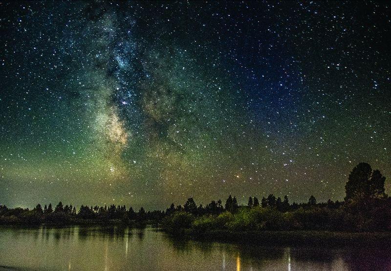 Milky Way over Sunriver Jim Culpepper