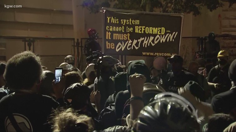 Portland protest KGW 829