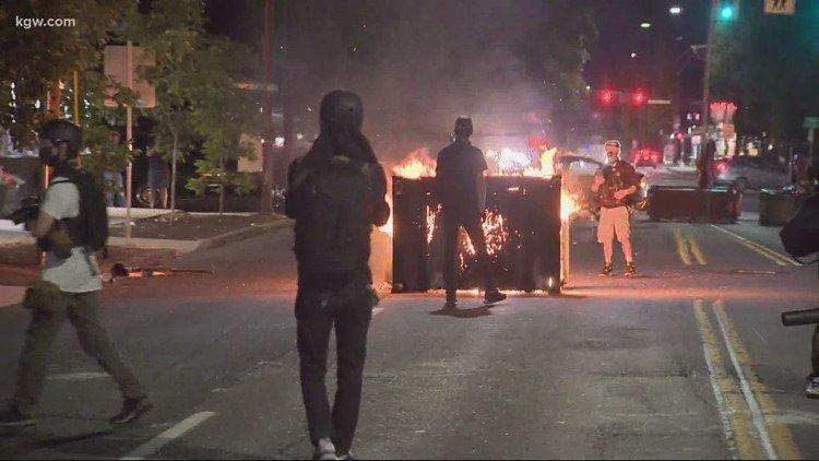 Portland riot 89