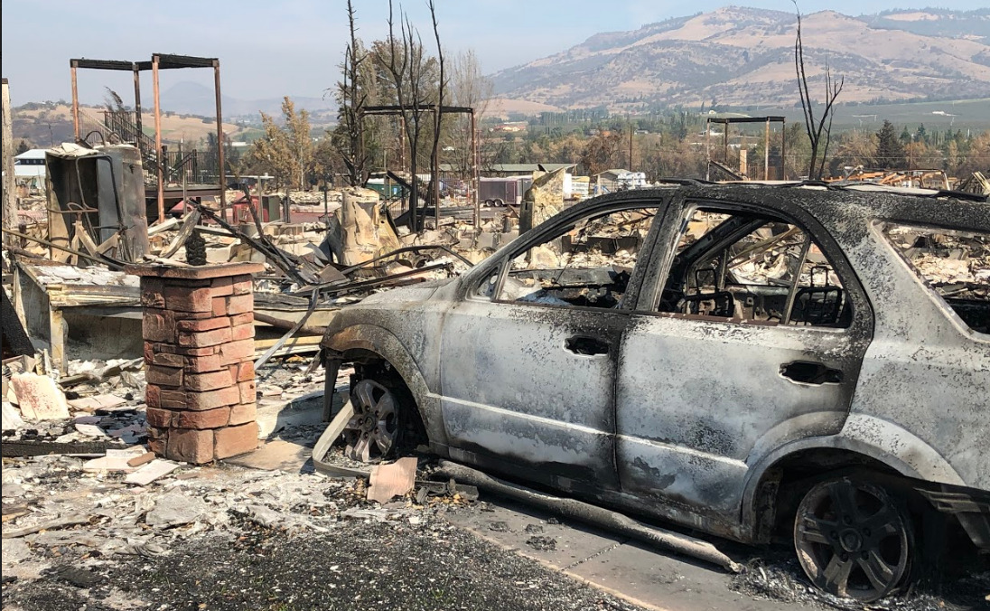Almeda Drive Fire destroyed many homes in S. Oregon