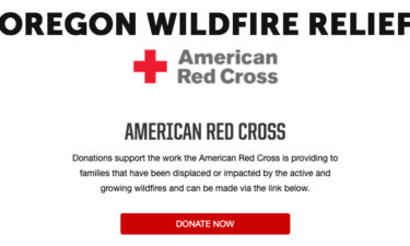 American red cross wildfire relief copy