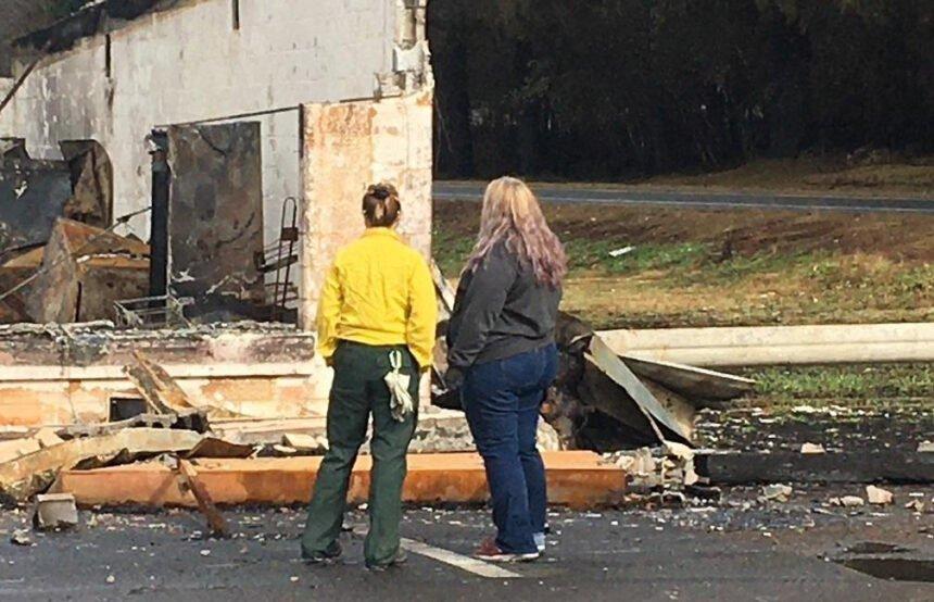 Detroit resident, PIO Lionshead Fire damage 926
