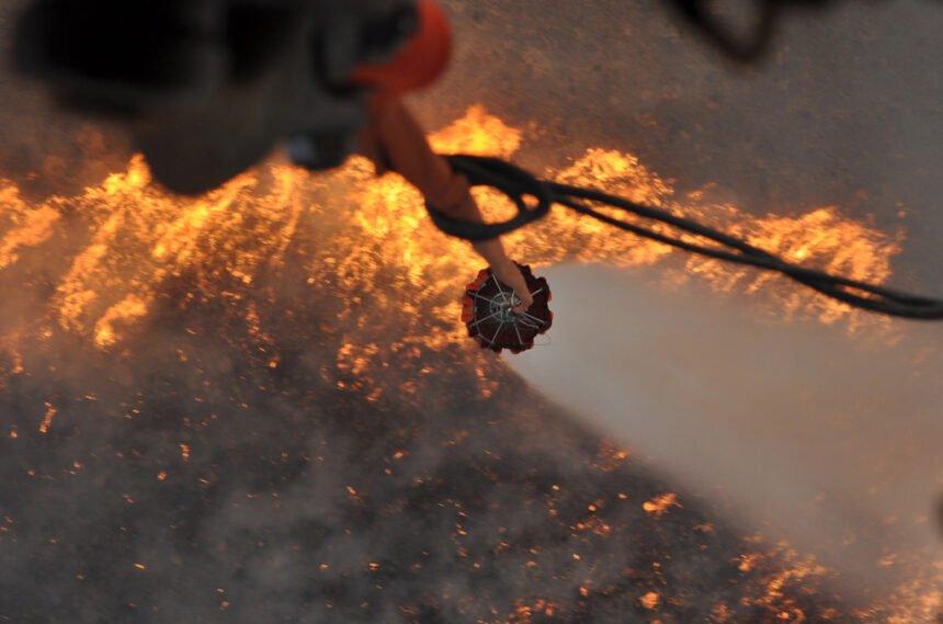 Oregon Army National Guard water Brattain Fire 9-15