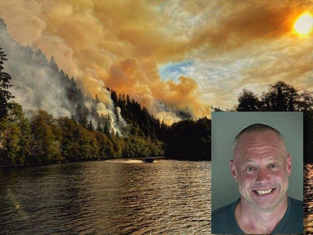 Sweet Creek fire PENDERGRASS, ELIAS