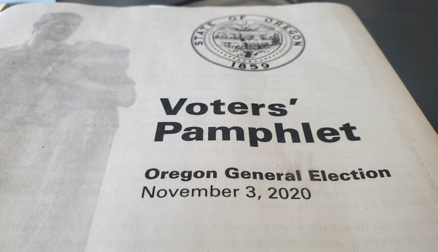 2020 Voters' Pamphlet