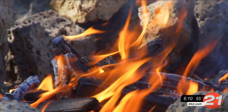 Firebusters campfire safety 1007