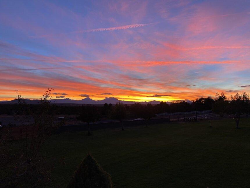 Redmond sunset Peter Coughlin 1017