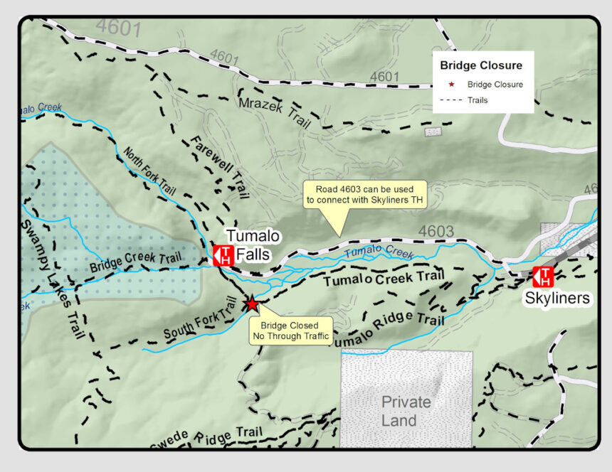 South Fork Trail reroute USFS