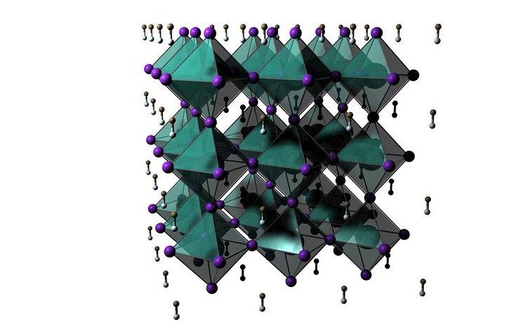 Perovskite crystal structure OSU 1112