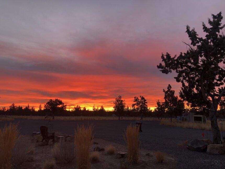 Powell Butte sunrise Kelly Warner 1112
