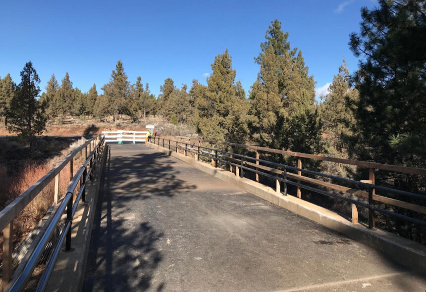 Sisemore Bridge finished Deschutes County