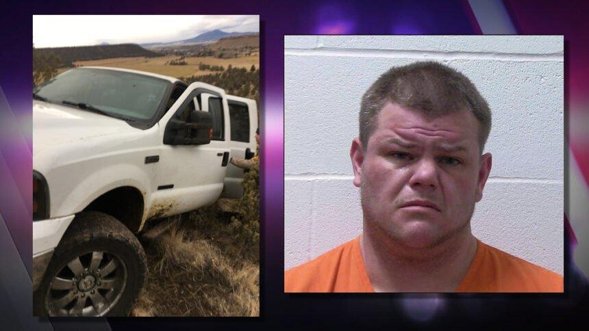 Stolen pickup crash MATHES, JOSHUA CCSO