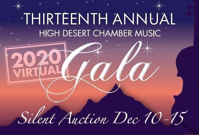 High Desert Chamber Music virtual gala
