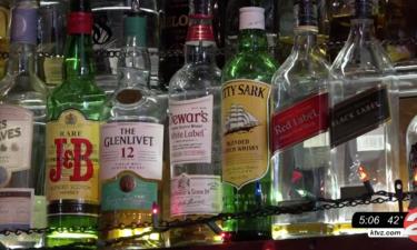 liquor bar cocktails