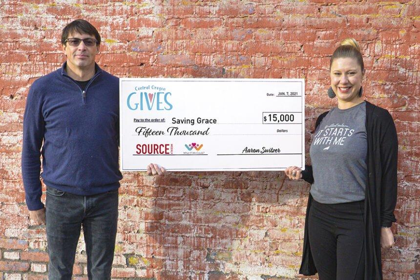 Aaron Switzer and Cassie MacQueen Saving Grace