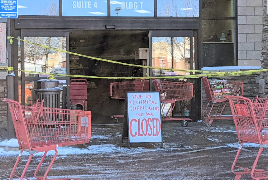 Bend Trader Joe's closed fire 123