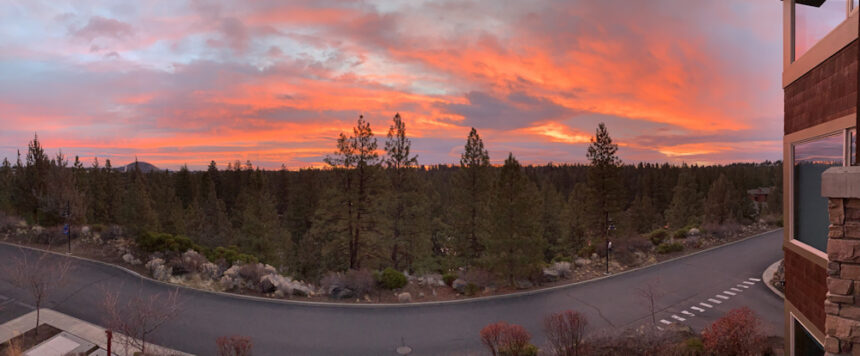Bend sunrise Paul White 115
