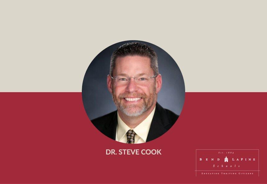 Dr. Steve Cook Bend-La Pine Schools superintendent