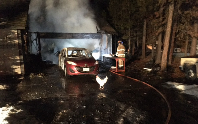 La Pine firefighters saved variety of pets trapped in burning house Wednesday evening