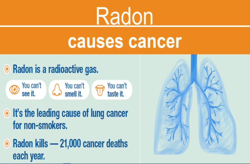 Radon causes cancer OHA