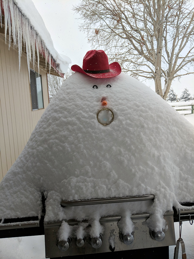 Snowman Bob B. Que Moe Martin 122