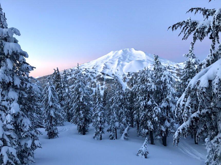 Bachelor sunrise from Tumalo Mtn Corky Luster