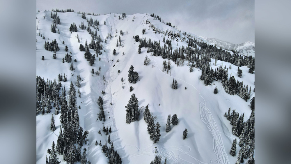 A snowmobiler died in an avalanche in the Smoky Mountains, Idaho.
