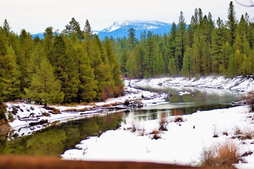 La Pine State Park winter Bonnie Edson