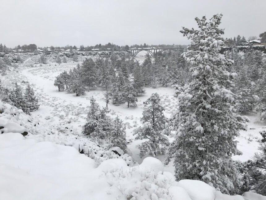 Snowy Dry Canyon Redmond John Size