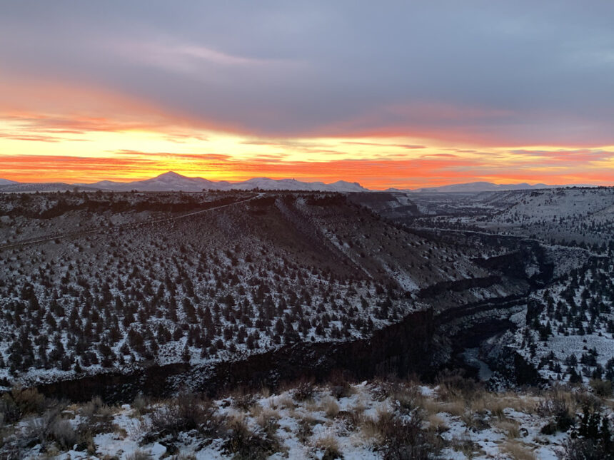 Sunrise Crooked River Ranch Patrick Fahey 124