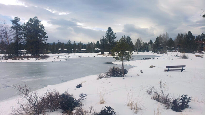Sunriver winter day Dennis Dishaw 221