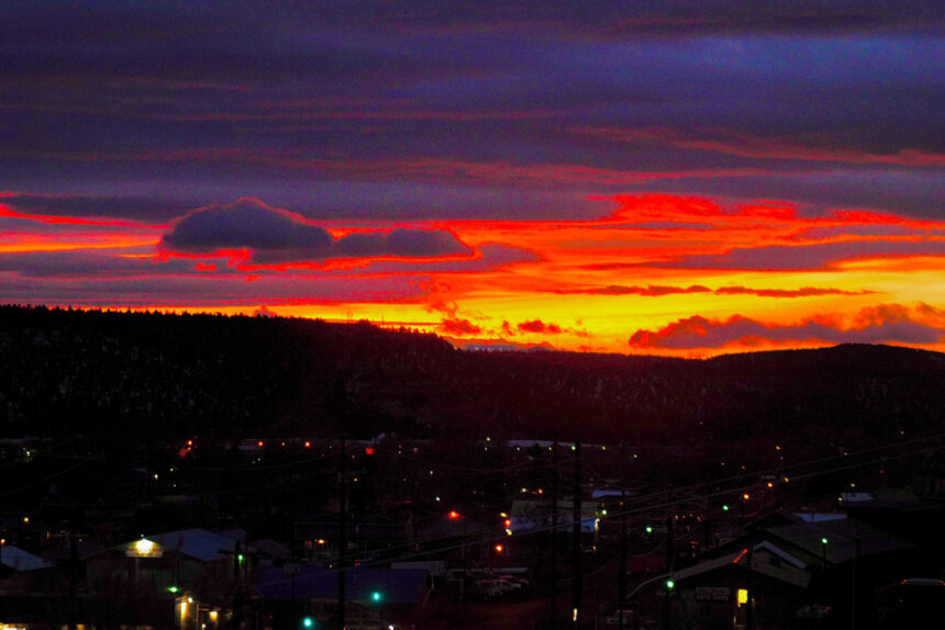 Sunset over Prineville Brent Bunch 221