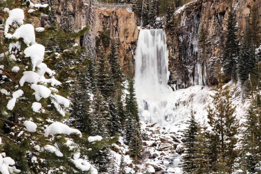 Winter Tumalo Falls Ted Forman 125