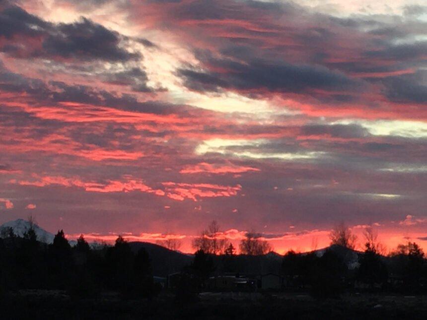 Back deck sunset Susan Endicott 31