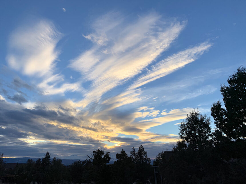 Eagle Crest pre-sunset clouds Brad Richards 31