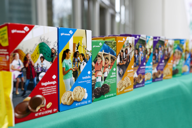 Girl Scout Cookies are always very popular and a project full of lessons for Girl Scouts