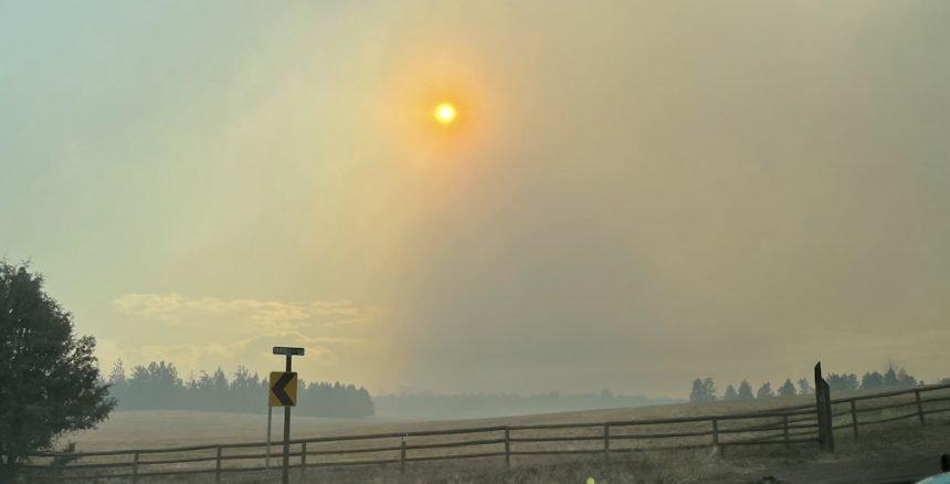 Johnson Road Tumalo fire Eric Zelenka 328