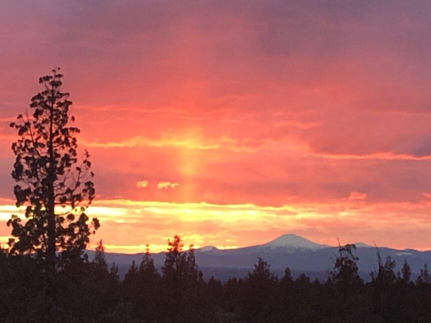Sunset Juniper Acres Mt. Bachelor Bob Alexander 31