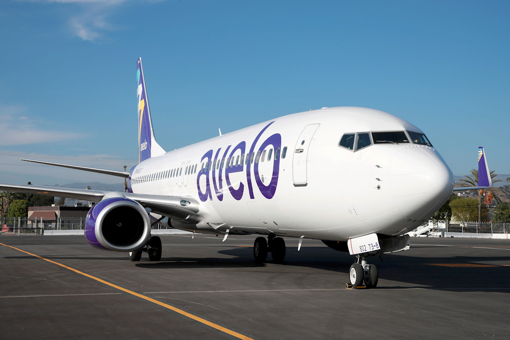 New low-cost air carrier Avelo Airlines using 189-seat Boeing 737-800 aircraft