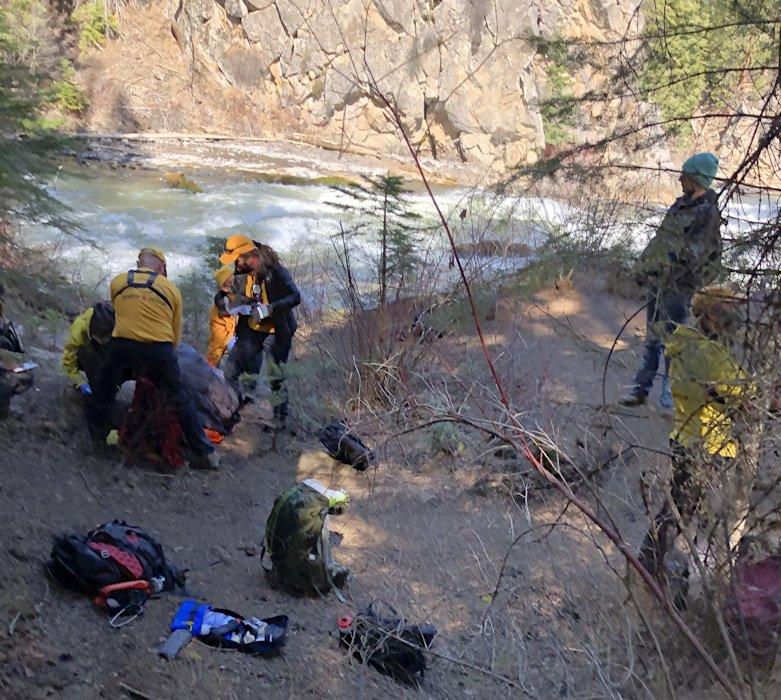 Benham Falls rescue DCSO SAR 411-2