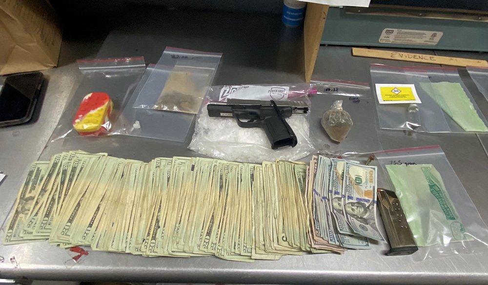 Drugs, cash, loaded handgun seized in Terrebonne traffic stop
