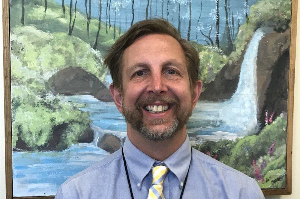 New La Pine High School Principal Scott Olszewski