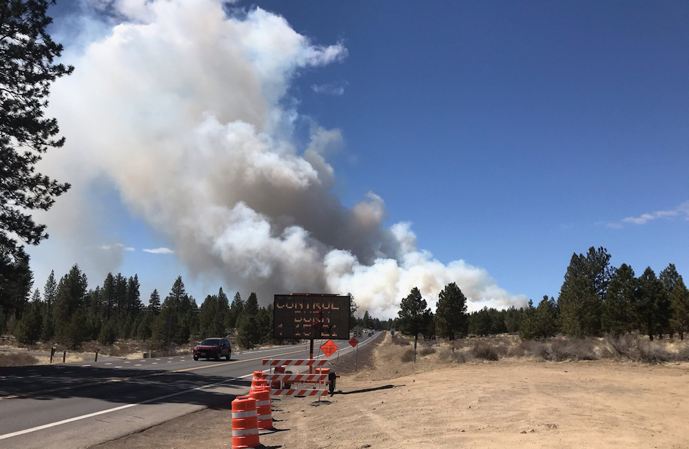 Prescribed burn planned south of Phil's Trail, near Welcome Station west of Bend - KTVZ