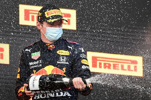 Max Verstappen wins at Imola but Lewis Hamilton                   stays ahead