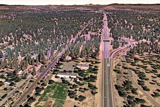 Highway 97-Baker Road interchange