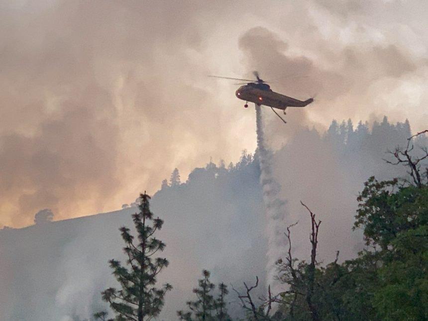 East Antelope Road Fire ODF