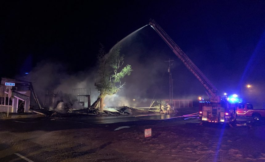 Metolius commercial building fire JCFD 1 513