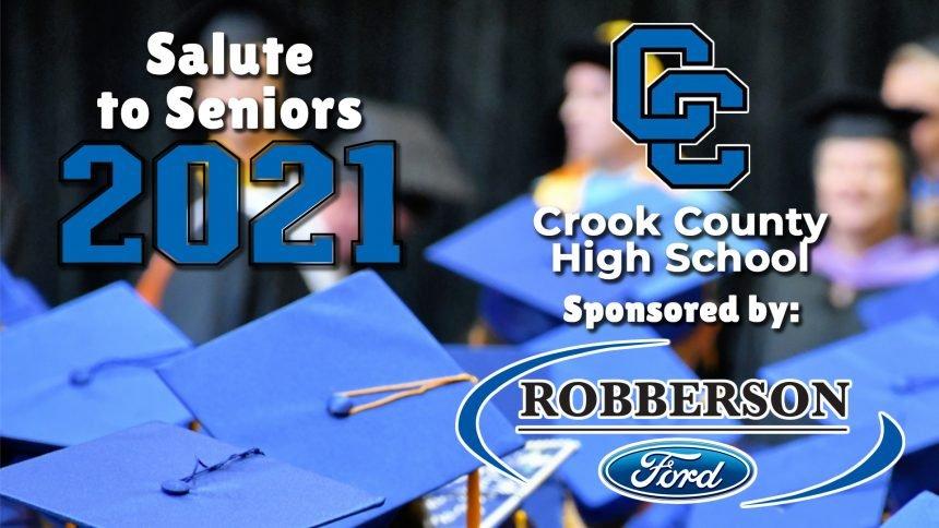 Salute to Seniors 2021 - Crook County High School