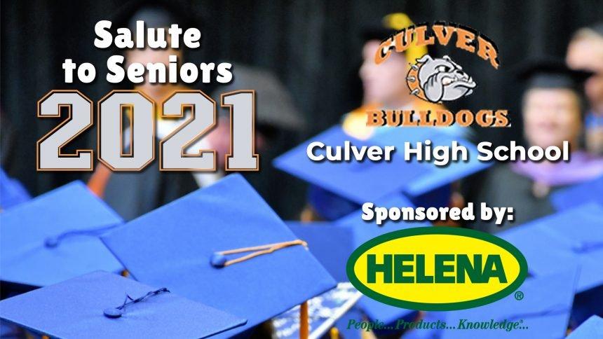 Salute to Seniors 2021 - Culver High School